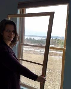 Installing a Insulating Window Insert